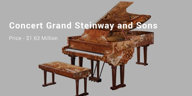 concert grand steinway and sons