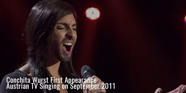 conchita wurst first appearance