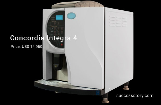 concordia integra 4 machine