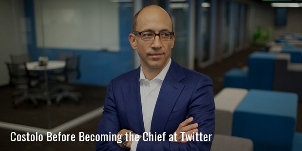 costolo before becoming the chief at twitter