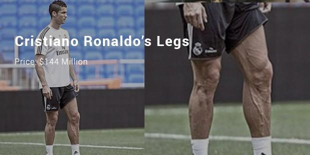 cristiano ronaldo's legs