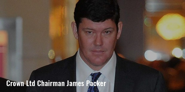 crown ltd chairman james packer