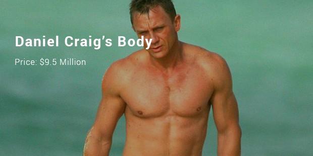 daniel craig's body