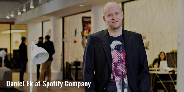 daniel ek at spotify company