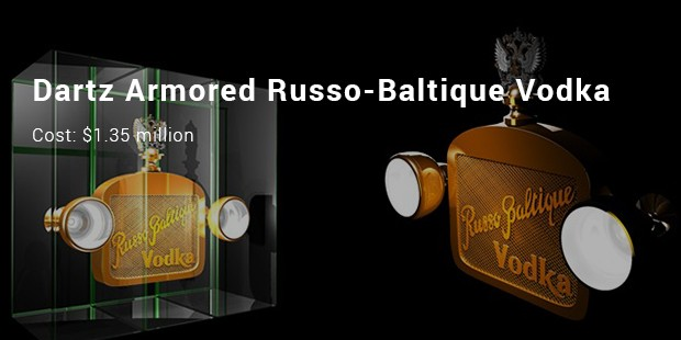 dartz armored russo baltique vodka