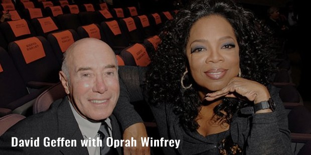 david geffen with oprah winfrey
