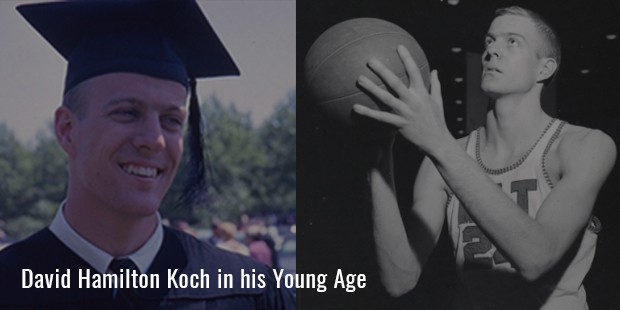 David Hamilton Koch  in his Young Age