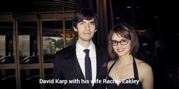 david karp with his wife rachel eakley