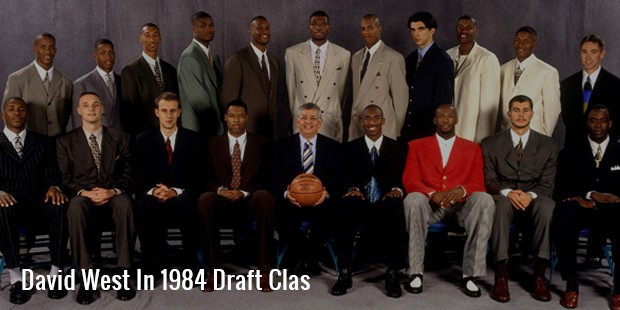 david west in 1984 draft clas