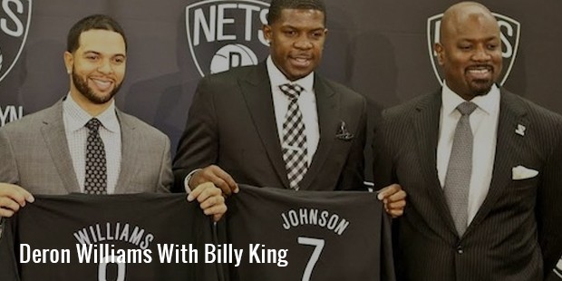 deron williams with billy king