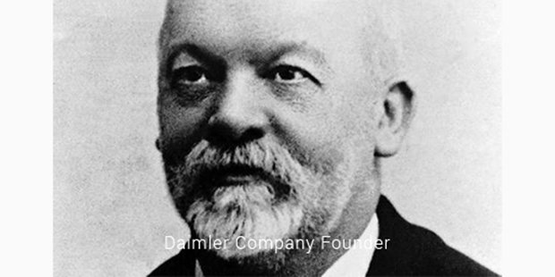 diamler company founder
