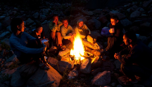 digital campfire storytelling