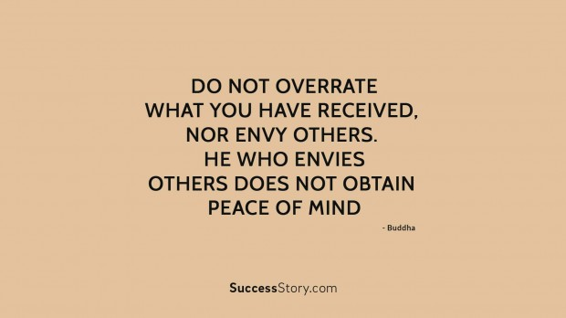 do not overrate