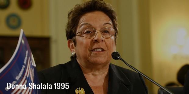 donna shalala 1995