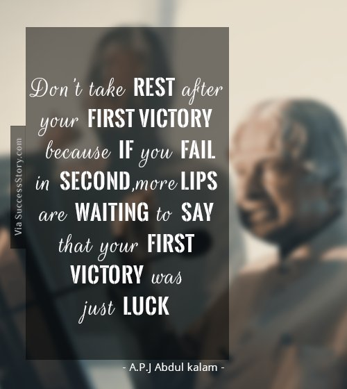 16 Most Popular Inspirational Quotes From Apj Abdul Kalam