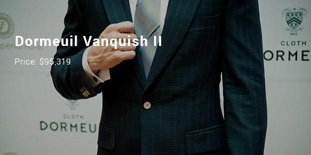 dormeuil vanquish ii