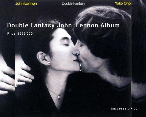 double fantasy john  lennon album