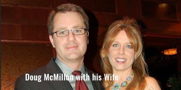doug mcmillon with his wife