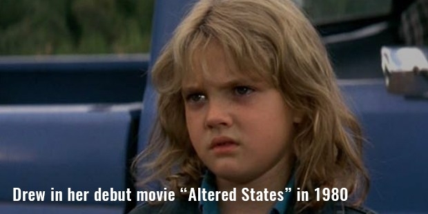 "drew in her debut movie ""altered states"" in 1980"