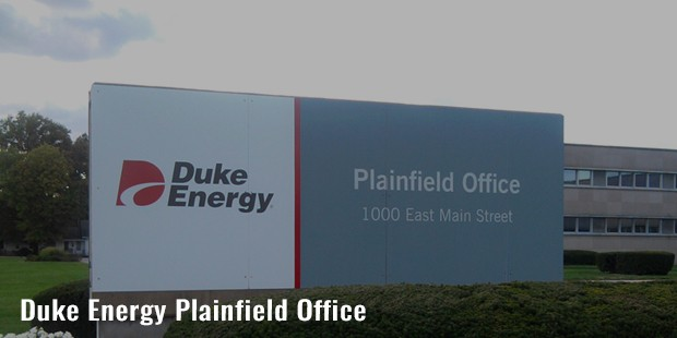 duke energy plainfield office