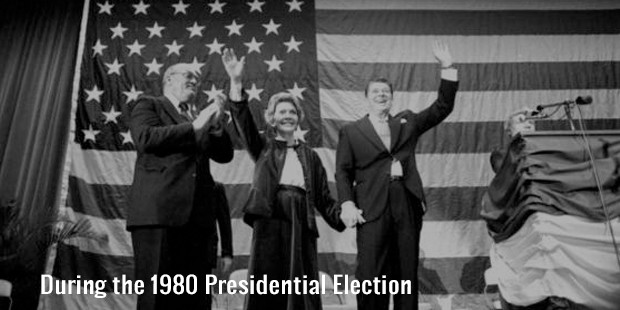 during the 1980 presidential election