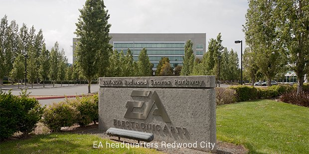 ea headquarters redwood city