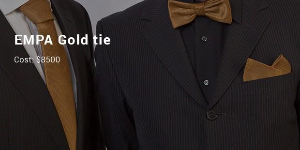 empa gold tie