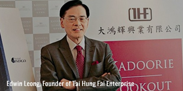 edwin leong, founder of tai hung fai enterprise