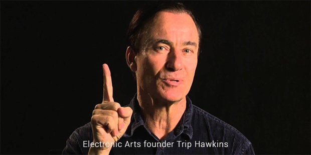 electronic arts founder trip hawkins