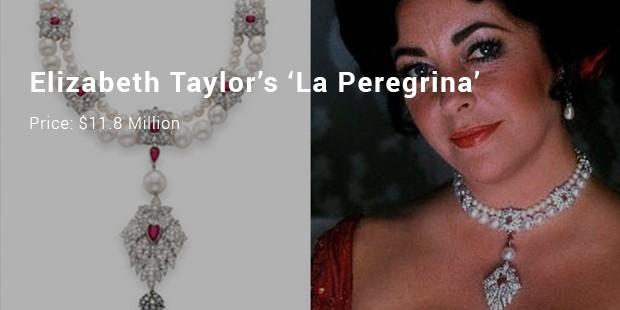 elizabeth taylor's 'la peregrina'