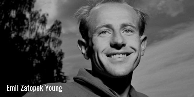 emil zatopek young