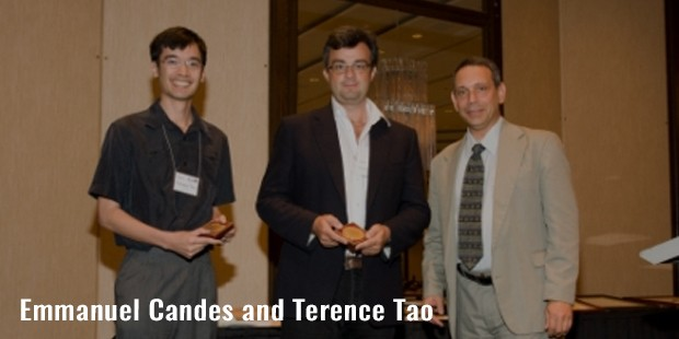 emmanuel candes and terence tao
