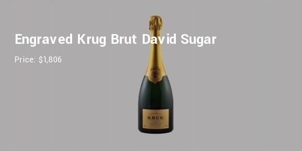 engraved krug brut david sugar