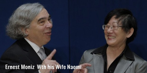 ernest moniz  wth his wife naomi