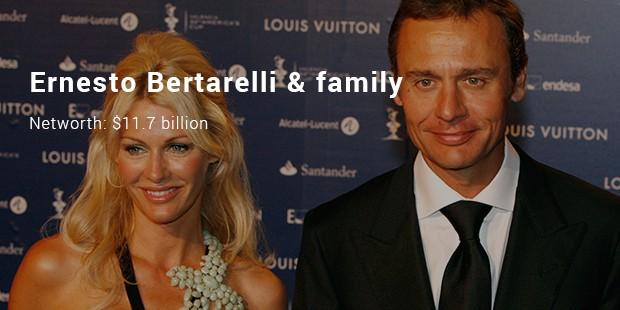 ernesto bertarelli   family