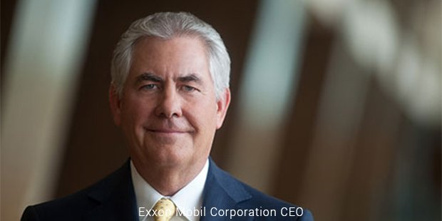 exxon mobil corporation ceo