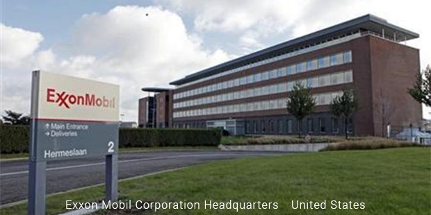 exxon mobil corporation headquarters united states