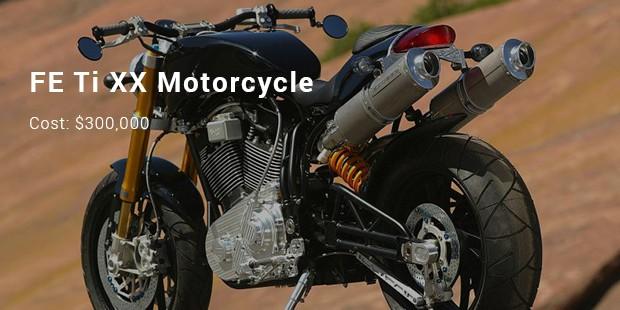 fe ti xx motorcycle