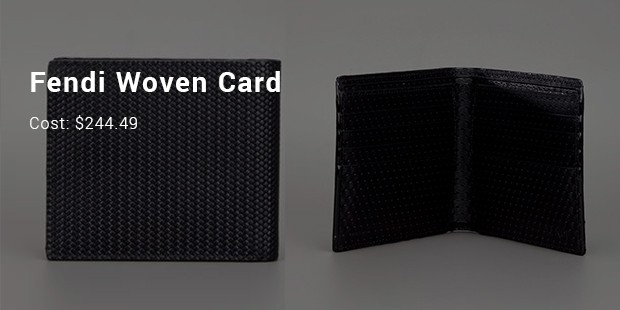 Fendi Woven Card