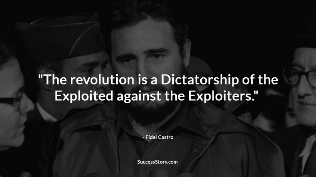 fidel castro revolution quote