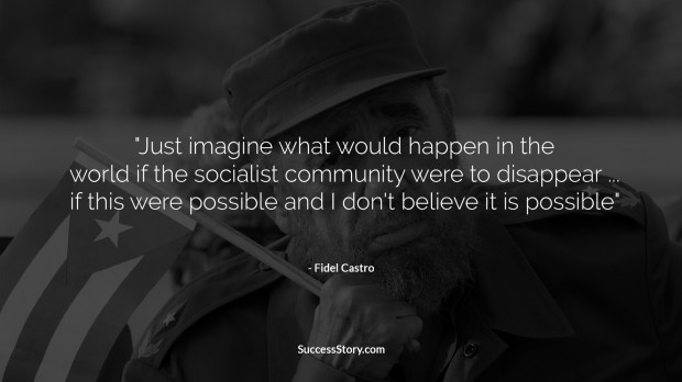 fidel castro socialism quote