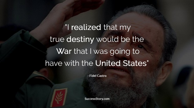 fidel castro war quote