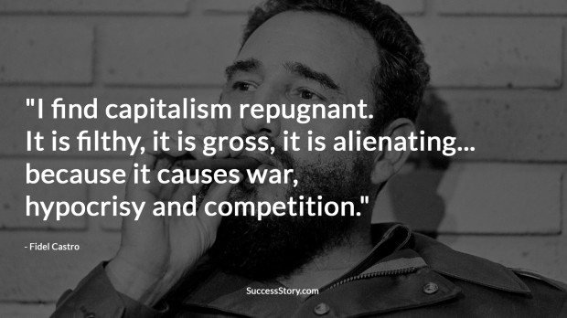 fidel castro on capitalism