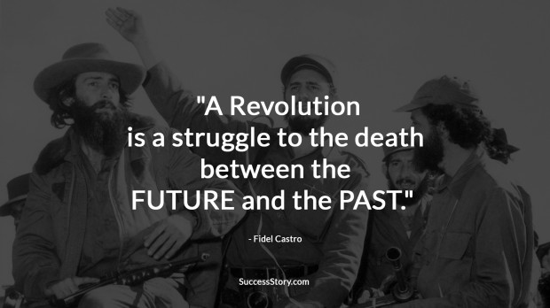 fidel castro on revolution