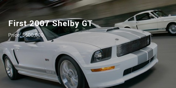 first 2007 shelby gt