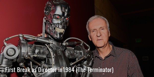 First Break as Director in1984 (The Terminator)