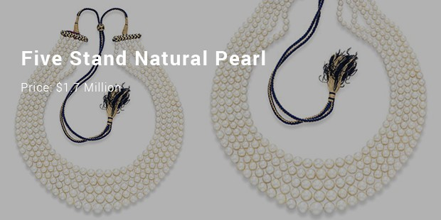 five stand natural pearl