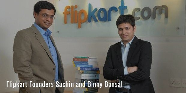 flipkart founders sachin and binny bansal