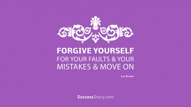 forgive yourself for