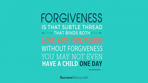 forgiveness is that sub